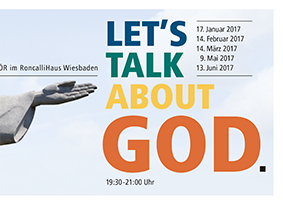 LET'S TALK ABOUT GOD.